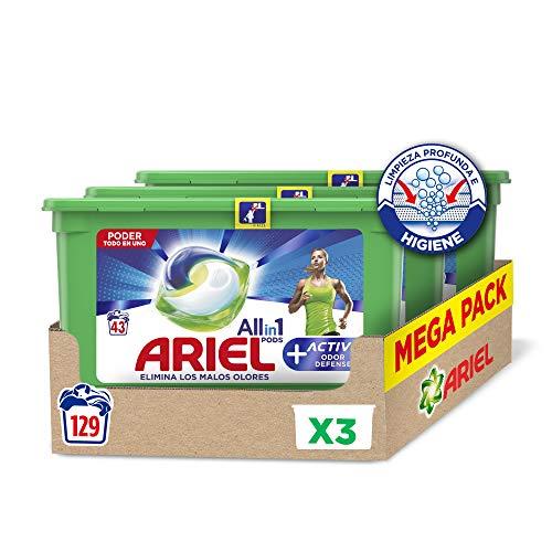 🥇 Ariel Allin1 Pods Active – Detergente en cápsulas para la lavadora