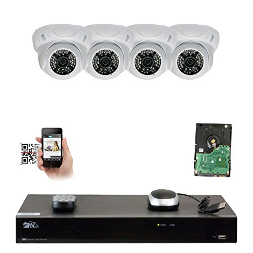 GW Security 8Channel Network NVR 1920P IP Camera CCTV Video