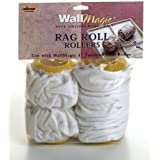 Wagner Spray Tech Corp 510171 WallMagic 4-Inch Rag Roll Dual Roller Covers by Wagner Power Products