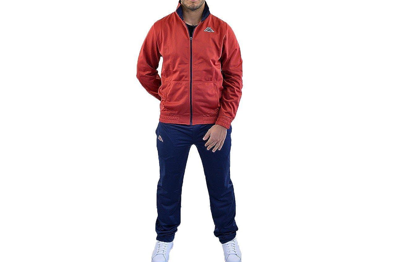 Kappa - Chándal - para hombre Rojo rosso Talla:large: Amazon.es ...