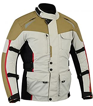 LOVO Chaqueta 3 4 para moto de hombre (XL)  Amazon.es  Coche y moto eb1ca0bddcad7