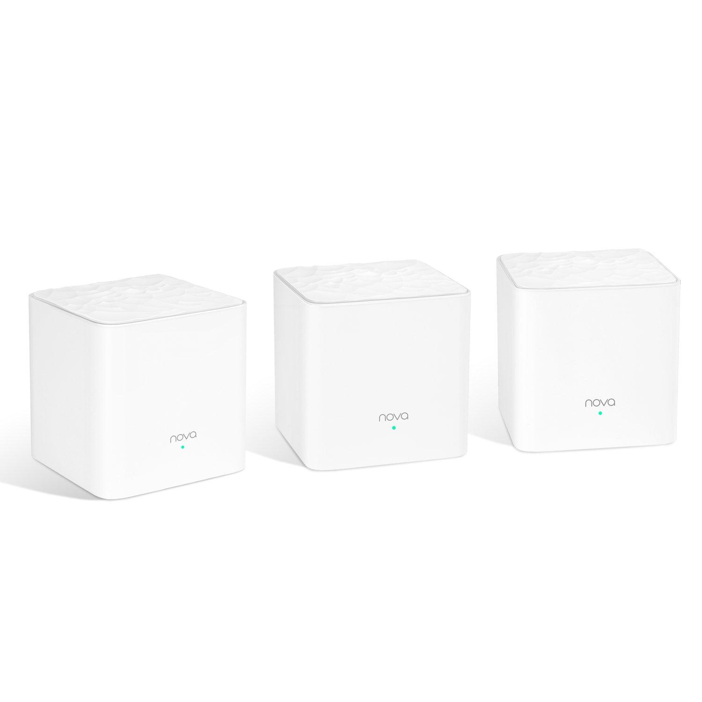 Tenda MW3 Nova Wave 2 80211AC MuMimo Whole Home WiFi Mesh System 3Pack