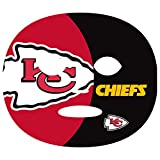 Siskiyou NFL Kansas City Chiefs Game Day Face Temporary Tattoo