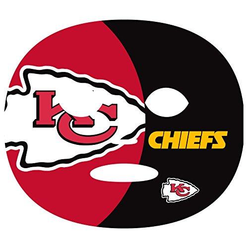 Siskiyou NFL Kansas City Chiefs Game Day Face Temporary Tattoo