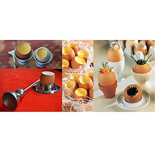 Checkout 1 pcs Egg Slicers Stainless Steel egg tool cooking kitchen gadget shell cutter Creative kitchenware saleoff