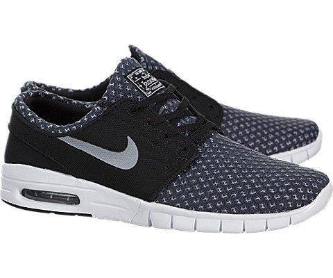 nike SB stefan janoski max mens trainers 631303 sneakers shoes (uk 6 us 7 eu 40, lack metallic cool grey white 004)