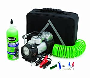 amazoncom slime  truck spair heavy duty  volt inflator tire repair kit  slime car