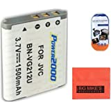 BN-VG212 Battery FOR JVC Everio GZ-V500 GZ-VX700 GZ-VX705 GZ-VX815 Camcorder + More!!