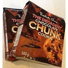 President's Choice The Decadent Cookies, Chocolate Chunk, 350 Grams/12.35 Ounces - 2 Pack