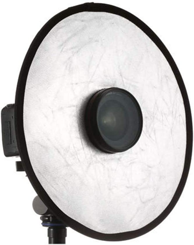 30 cm with Protecting Bag for Studio//Outdoor Lighting Gold//Silver EORTA 2 in 1 Photography Photo Reflector Collapsible Disc Light Reflector Portable Hollow Light Diffuser DSLR Light Lens-Mount