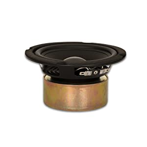"Goldwood Sound GW-5028/S Shielded 5.25"" Woofer 130 Watt 8ohm Replacement Speaker"