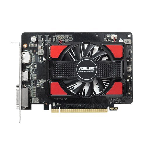 Asus AMD Radeon R7 250 1GB DDR5 128-Bit DisplayPort HDMI DVI Graphics Card R7250-1GD5-V2 by Asus (Image #1)