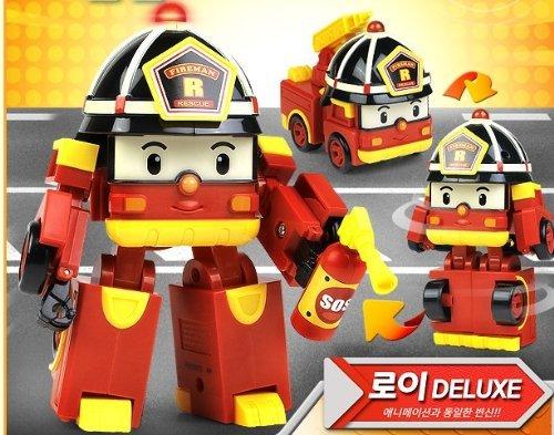 Robocar poli deluxe transformer toy set poli amber roy - Le club robocar poli ...