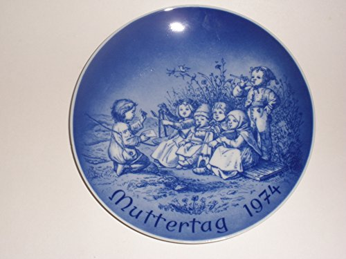 1974 Mother's Day Collector's Plate by (Bareuther Mothers Day Plate)