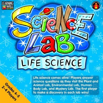 LEARNING WELL GAMES Life Science Learing Well Lab Game Gr 4-5