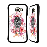 Official Monika Strigel Wolf Animals And Flowers 2 Hybrid Case for Samsung Galaxy A9 (2016)