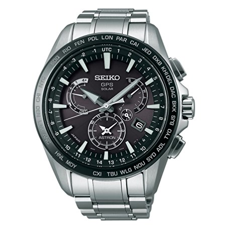 Mens-Seiko-Astron-GPS-Solar-Dual-Time-Dual-time-indicator-40-time-zones-SSE077