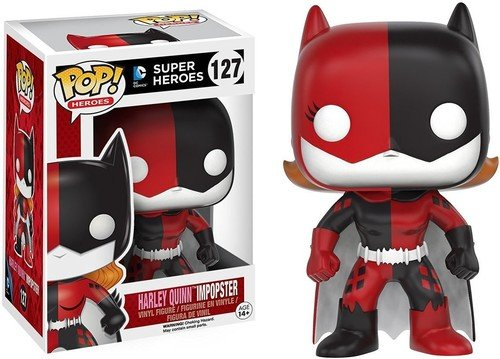 Funko POP Heroes Villains as Batgirl Harley Quinn Action Figure]()