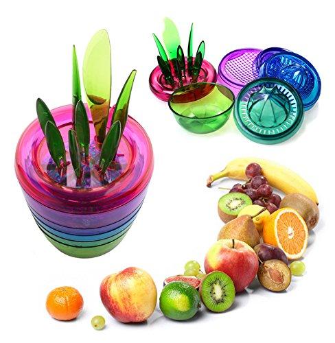 fruits-plant-kitchen-tool-set-apple-cutter-avocado-scooper-fruit-slicer-cutter-mesh-citrus-squeezer-