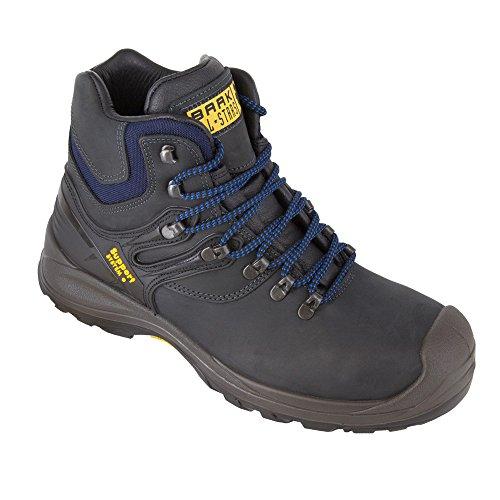 BAAK sécurité pour big ben 15875–6653 s3 hRO sRC chaussures de construction de sécurité montantes gris, gris, 6653