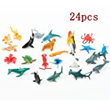 Toys & Hobbies Realistic Educational Sea Animal Figures Assorted Sea Animals Toys For Learning Yet Not Vulgar