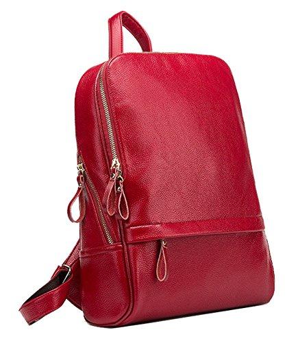 Yan Show Rucksack wahres Leder Europa und die Vereinigten Staaten fallen und neue Reisebeutel neue Tasche neue sch?ne Tasche
