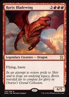 Magic: the Gathering - Rorix Bladewing (145/249) - Eternal Masters