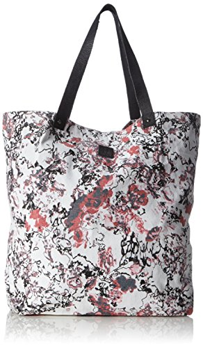 Mehrfarbig Lily Shoppers Rose Multicolore Black Canvas Bag Neema SAdcqAUwY