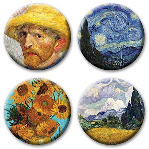 van gogh fridge magnet - 5