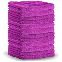 SHINE ARMOR Microfiber Towels - Color May Vary | 10 Pack