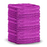 Shine Armor Professional Grade Super Absorbent Premium Microfiber Towels for Car Cleaning & Auto Detailing - Wax, Buff, Wash, Dry, Polish Colors May Vary (12-Pack)