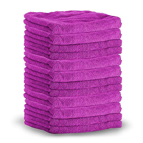 Microfiber Towels - Color May Vary | 10 Pack