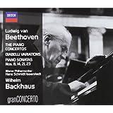 Beethoven: Piano Concertos, Diabelli Variations, Piano Sonatas Nos. 8, 14, 21 & 23 (Coffret 4 CD) [Import USA]