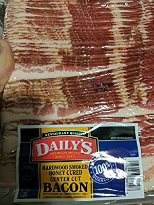 Daily's Hardwood Smoked Honey Cured Bacon 5 Lb