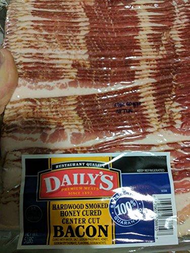 Honey Bacon (Daily's Hardwood Smoked Honey Cured Bacon 5 Lb)