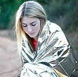 FlyerShop(TM) New Folding Outdoor Emergency Tent/Blanket/Sleeping Bag Survival Camping Shelter