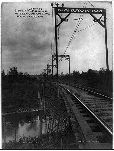 (Photo: Interurban, Ellwood City, Pennsylvania, Pittsburgh, Harmony, Butler, Castle, Railway . Size: )