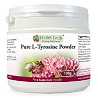 Pure L-Tyrosine Powder 100g | High Quality Pharmaceutical Grade | Amino Acids The Building Blocks of Life | Sports & Active Nutrition from Health Leads UK