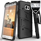 zizo bolt for note edge - Galaxy Note 5 Case, Zizo Bolt Cover with [.33mm 9H Tempered Glass Screen Protector] Armor [Military Grade] Kickstand Holster Belt Clip