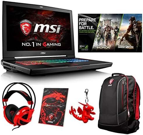 MSI GT73VR TITAN PRO-425 (i7-7820HK, 64GB RAM, 256GB NVMe SSD + 1TB HDD, NVIDIA GTX 1080 8GB, 17.3