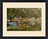 Framed Print of Boat reflection, Delhi, India