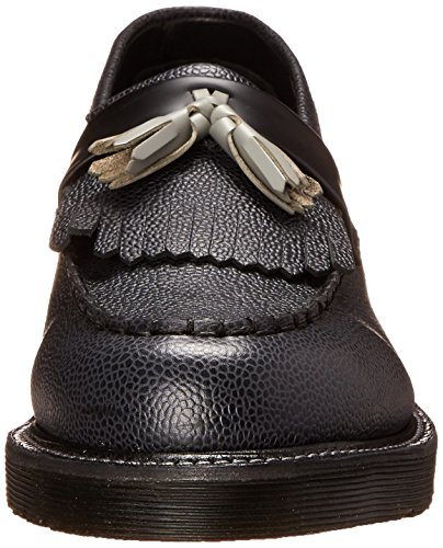 Dr.Martens Leroy Black Grey Mens Shoes Black Grey