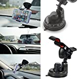 Car Mount, Optionz Universal Phone Holder for Cars : Fits Most Phones iPhone 6 6 Plus 5 5S 5C 4 4S Galaxy S6 Edge+ Plus S6 S6 Edge S5 S4 S3 Note 3 4 5 HTC One M8 M9 Desire 510 816 626
