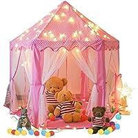 Springbuds Kids Pink Princess Castle Play Tent, Large...
