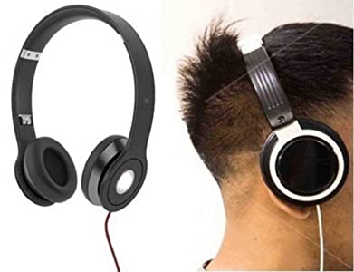 GKP PRODUCTS Solo bass HD Headphones Portable Folded Design Noise Cancelling Soft Ear Pads for mobiles and Computer Model 285041