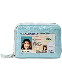 RFID Blocking Leather Wallet for Women,Excellent Women's...