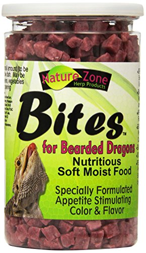 Pet Nature Zone (Nature Zone SNZ54621 Bearded Dragon Bites Soft Moist Food, 9-Ounce)