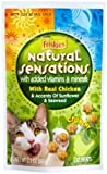 Friskies Natural Sensations Cat Food with Real Chicken, 10 – 2.1-Ounce Packages