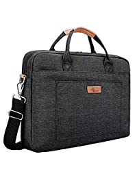 E-Tree Ultra Light-Weight Oxford Laptop Shoulder Bag [Upgraded Shock-Proof]15 to 15.6 Handbag