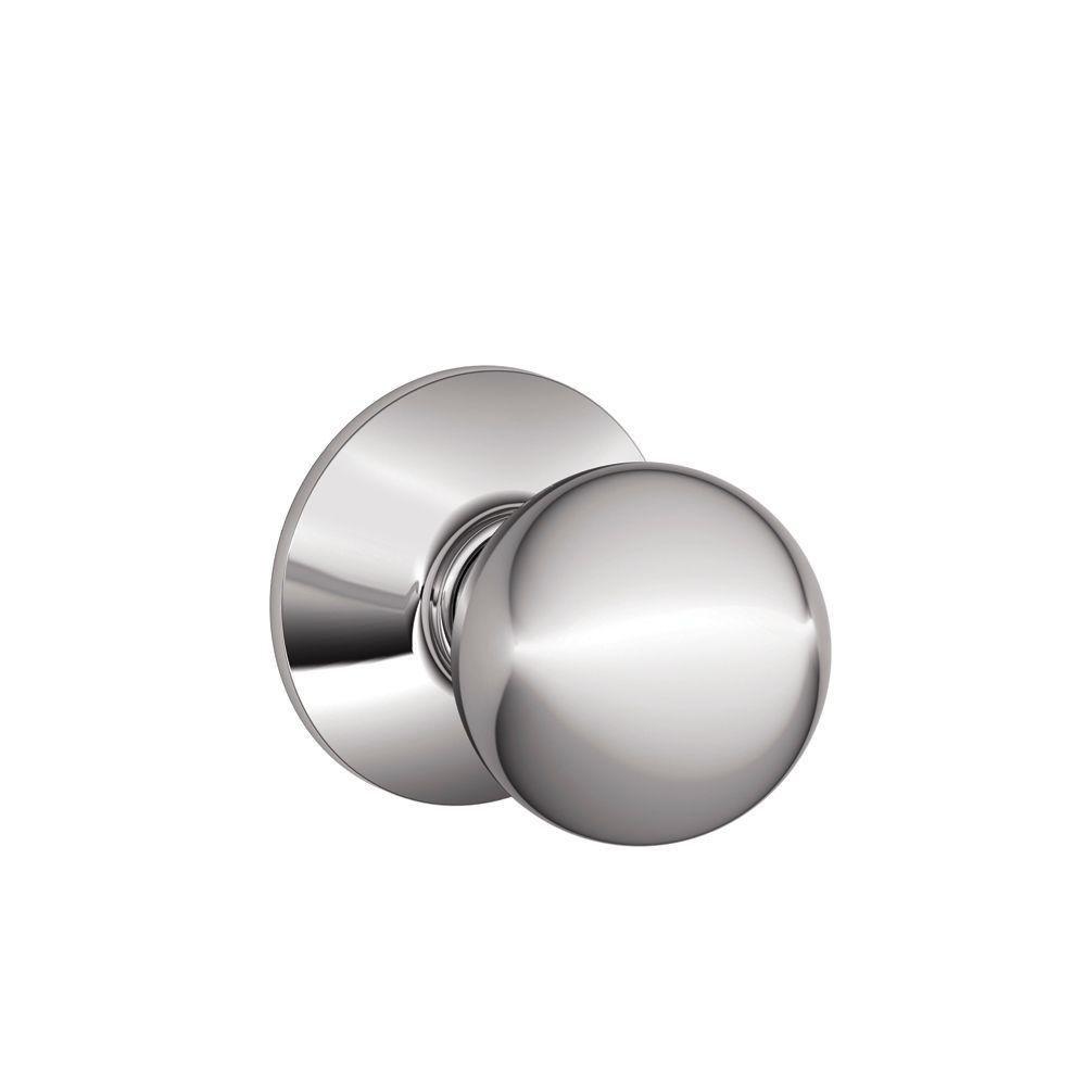 Schlage F10ORB625 Orbit Passage Knob, Bright Chrome   Doorknobs   Amazon.com